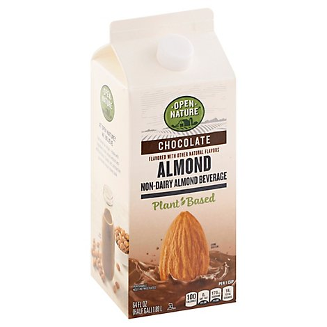 Open Nature Almond Milk Chocolate Half Gallon - 64 Fl. Oz.