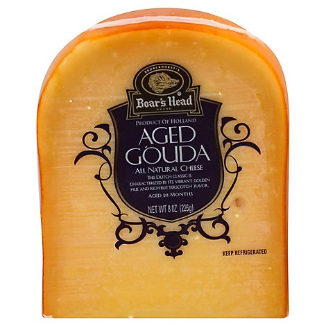 Boars Head Cheese Aged Gouda - 8 Oz
