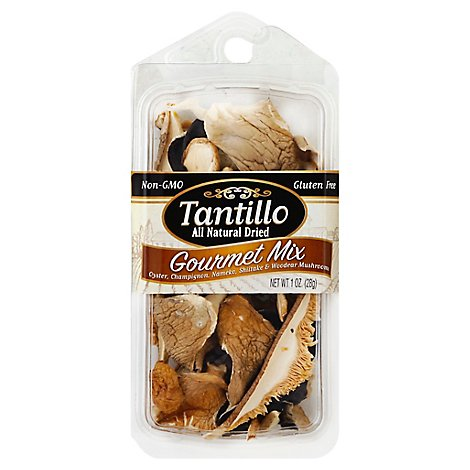 Tantillo Dried Mushrooms Gourmet Mix - 1 Oz