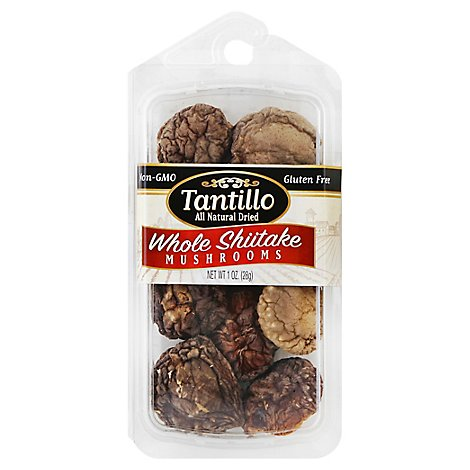 Tantillo Dried Mushrooms Shiitake - 1 Oz