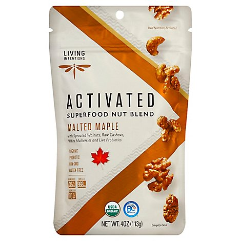 Living Intentions Nut Blend Malted Maple - 4 Oz