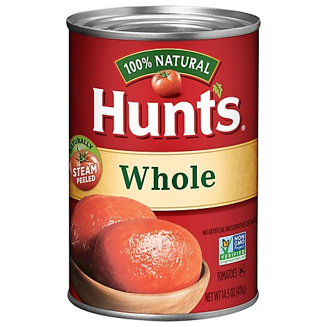 Hunts Tomatoes Whole - 14.5 Oz