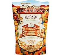 Birch Benders Pancake & Waffle Mix Double Pumpkin Spice Bag - 16 Oz