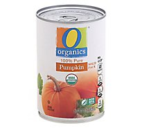 O Organics Organic Canned Pumpkin - 15 Oz