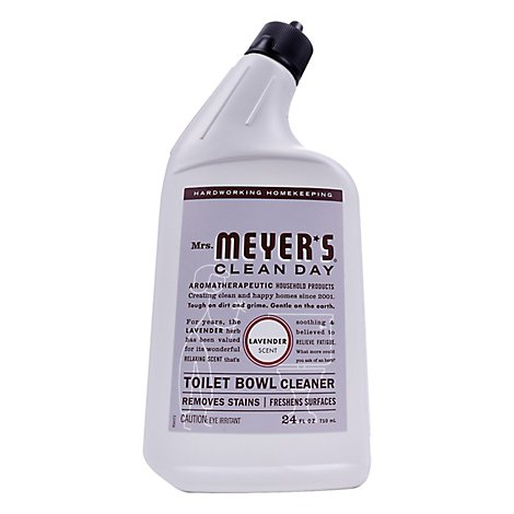 Mrs. Meyers Clean Day Liquid Toilet Bowl Cleaner Lavender Scent 24 ounce bottle