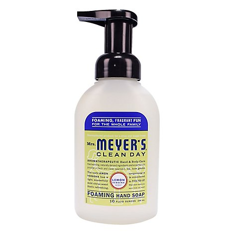 Mrs Meyers Clean Day Soap Hand Foam Verbena - 10 Oz