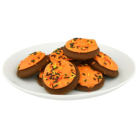 Cookie Frosted Orange Chocolate - Each