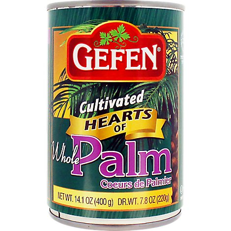 Gefen Whole Hearts Of Palm - 14.1 Oz