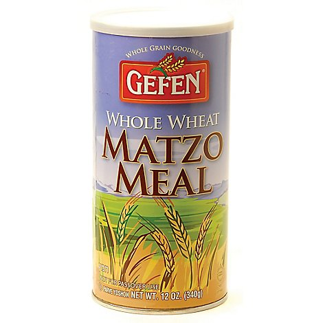 Gefen Matzo Meal  Whole Wheat - 12 Oz