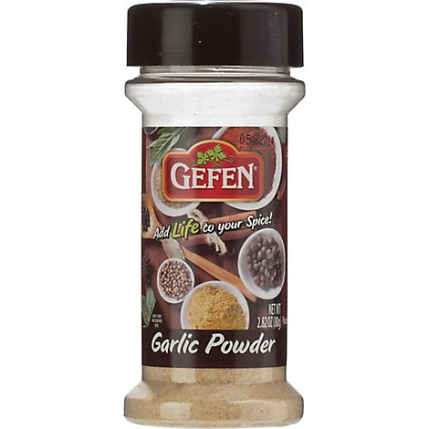 Gefen Spices-Garlic Powder - 2.25 Oz