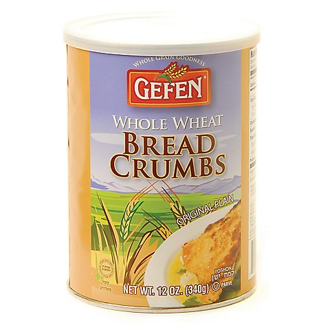 Gefen Bread Crumbs  Whole Wheat - 12 Oz