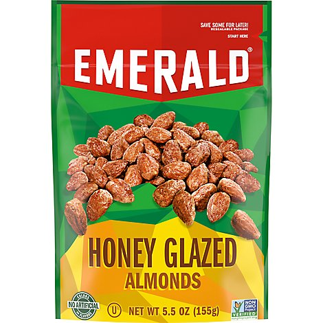 Emerald Almonds Honey Glazed - 5.5 Oz