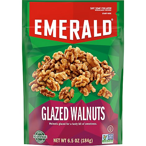 Emerald Walnuts Glazed - 6.5 Oz