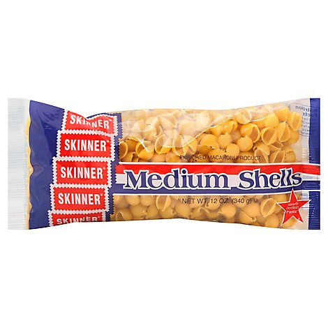 Skinner Pasta Shells Medium Bag - 12 Oz