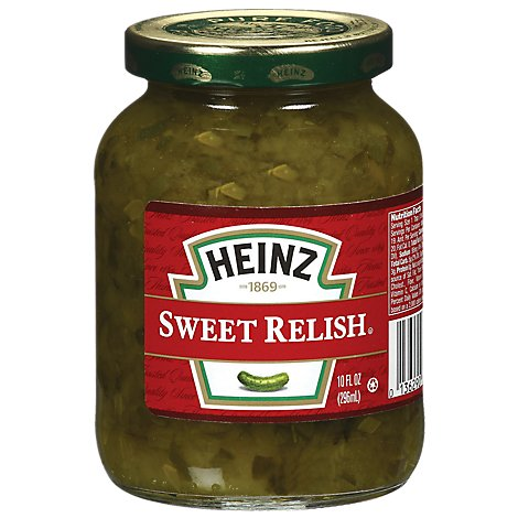 Heinz Relish Sweet - 10 Fl. Oz.