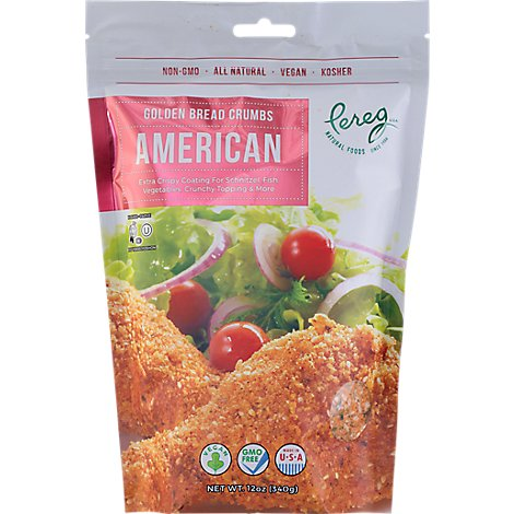 Pereg  Bread Crumbs  American Red - 14 Oz