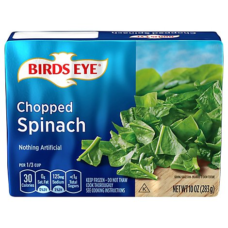 Birds Eye Spinach Chopped - 10 Oz