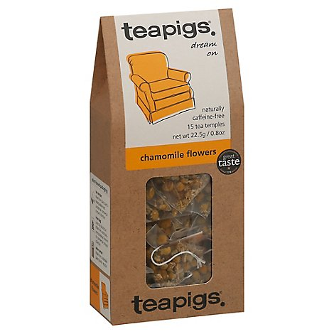Teapigs Herbal Tea Dream On Chamomile Flowers - 15 Count