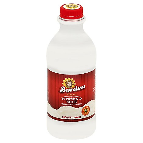 Borden Whole Milk - Quart