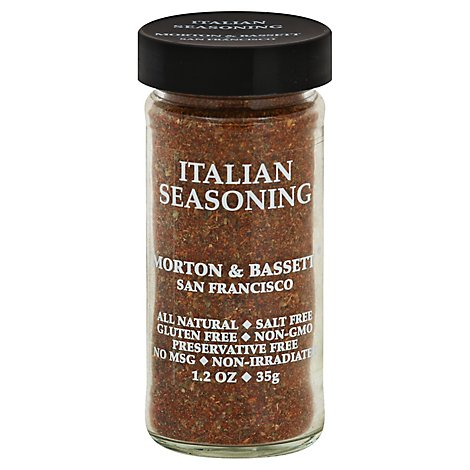 Morton & Bassett Seasoning Italian - 1.2 Oz