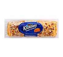Kaukauna Sharp Cheddar Spreadable Cheese Log 10 oz