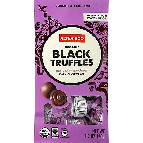 Alter Eco Chocolate Truffle Blck - 4.2 Oz
