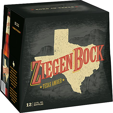 Ziegenbock Beer Long Neck Natural Resource Bottles - 12-12 Fl. Oz.