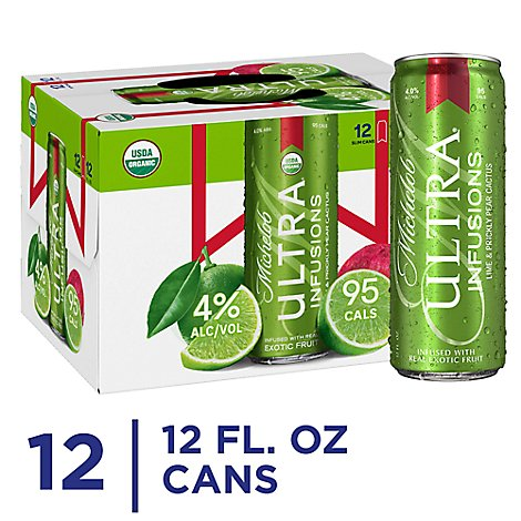 Michelob Ultra Lime Cactus - 12-12 Fl. Oz.