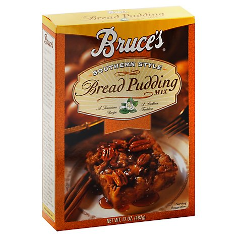 Bruce Southern Bread Pudding Mix - 17 Oz