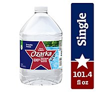 Ozarka 100% Natural Spring Water - 101.4 Fl. Oz.