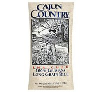 Cajun Country Rice Long Grain - 5 Lb