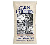 Cajun Country Rice Long Grain - 48 Oz