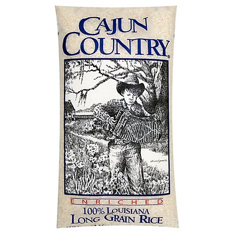 Cajun Country Rice Long Grain - 10 Lb