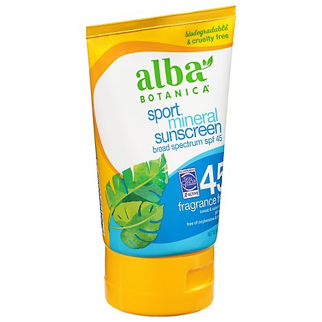 Albab Sunscreen Sport Mnrl Spf4 - 4.0 Oz