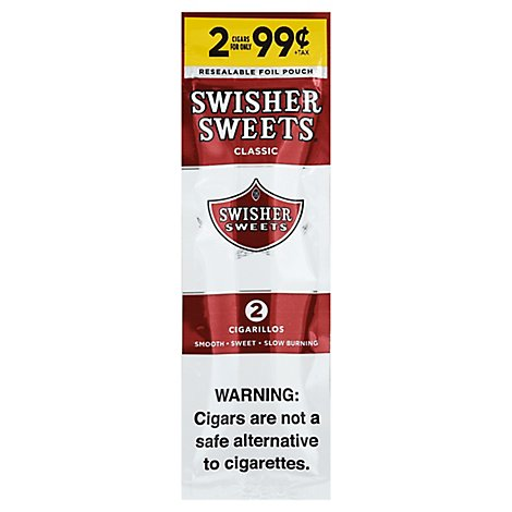 Swisher Sweet Cigarillo - 2 Count