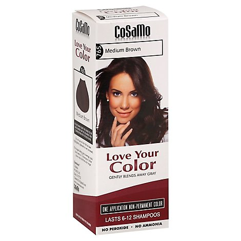 Lovey Hair Color Brown Med - 12.0 Oz
