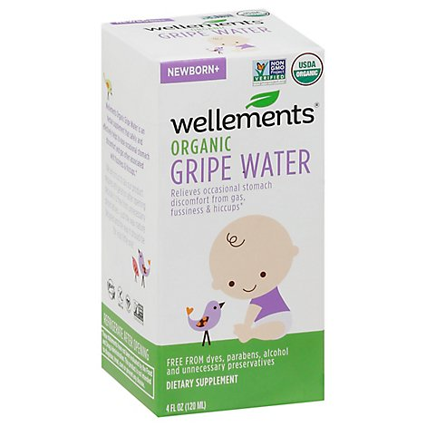 Welmt Gripe Water - 4.0 Oz