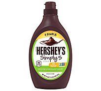 HERSHEYS Syrup Simply 5 Genuine Chocolate Flavor - 21.8 Oz
