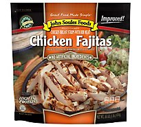 John Soules Chicken Breast Strips Fajita Style - 16 Oz