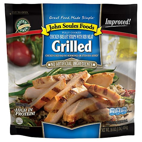 John Soules Chicken Fajitas Fully Cooked - 16 Oz