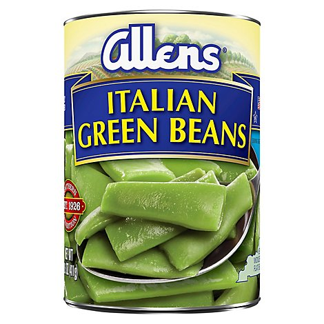 Allens Green Beans Cut Italian - 14.5 Oz