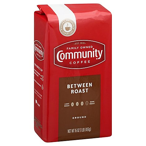 Community Coffee Coffee Between Roast - 16 Oz