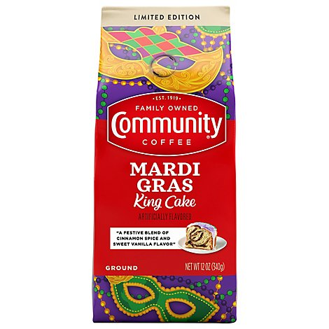 Community Coffee Coffee Ground Carnival Cake - 12 Oz