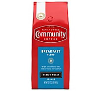 Community Coffee Coffee Ground Medium Roast Breakfast Blend - 32 Oz