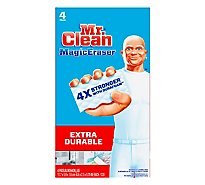 Mr. Clean Magic Eraser Cleaning Pads Household Extra Power - 4 Count