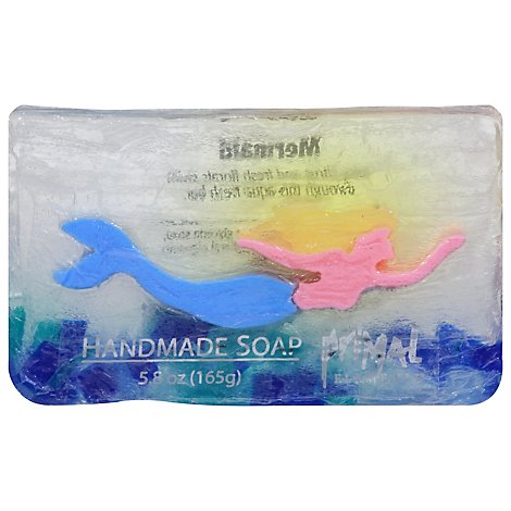Mermaid Bar Soap In Shrinkwrap - 5.8 Oz