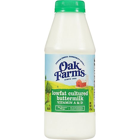 Oak Farms Milk Buttermilk - Pint