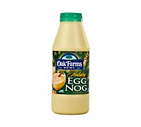 Oak Farms Dairy Egg Nog Holiday 1 Pint - 473 Ml