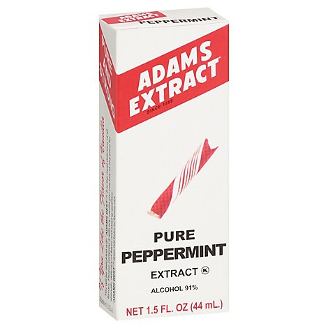 Adams Extract Extract Pure Peppermint - 1.5 Fl. Oz.