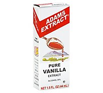 Adams Extract Extract Pure Vanilla - 1.5 Fl. Oz.